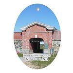 Fort Constitution Keepsake (Oval)