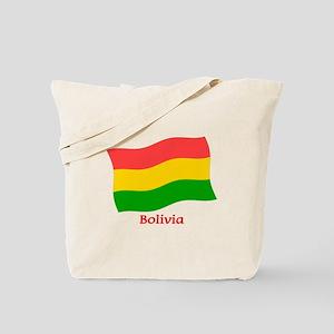Bolivia Flag Tote Bag