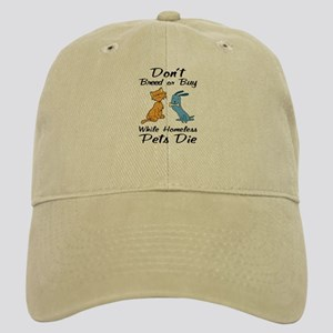 Don't Breed or Buy Cat&Dog Cap