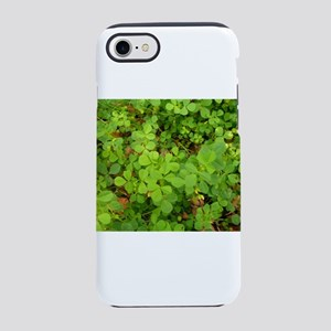 lots of clover in garden iPhone 8/7 Tough Case