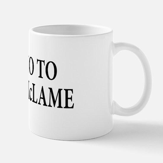 Anti-John McCain T-shirts Mug