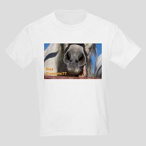 Got Carrots? Kids Light T-Shirt