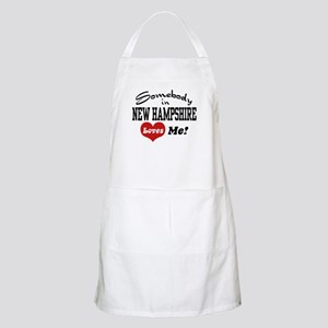 Somebody in New Hampshire Loves Me BBQ Apron