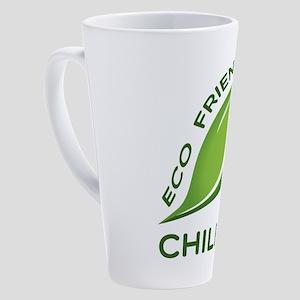 Eco Friendly Chilean County Design 17 oz Latte Mug