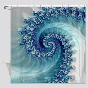 Sound of Seashell Shower Curtain