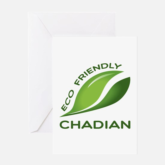 Eco Friendly Chadian County Designs Greeting Card