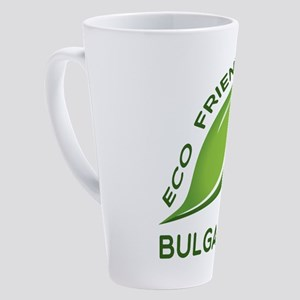 Eco Friendly Bulgarian County Desi 17 oz Latte Mug