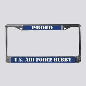 Proud U.s. Air Force Husband License Plate Frame