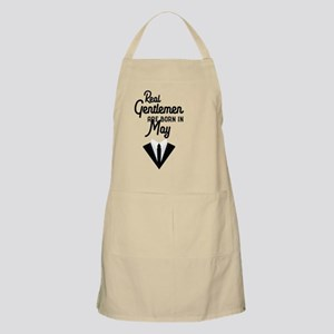 Real Gentlemen are born in May Ca9sx Light Apron