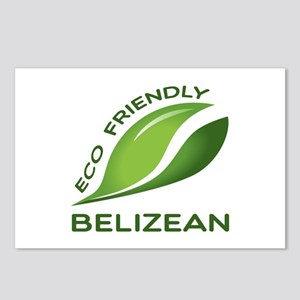 Eco Friendly Belizean Cou Postcards (Package of 8)