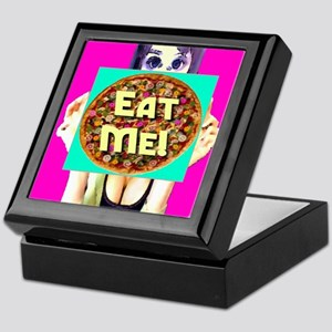 Ms. Anime Eat Me Pizza Keepsake Box