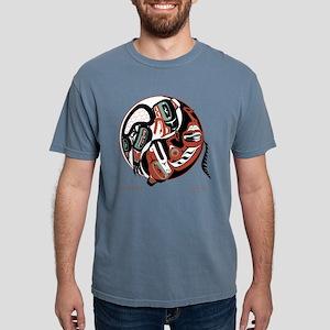 Eagle Wolf Yin-Yang T-Shirt