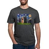 Briard famous art Tri-Blend T-Shirts