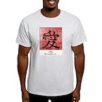 Ash Grey Love Kanji T-Shirt