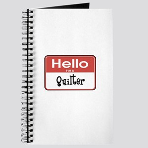 Hello I'm A Quilter Journal