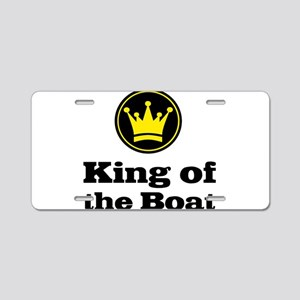 King of the Boat Aluminum License Plate