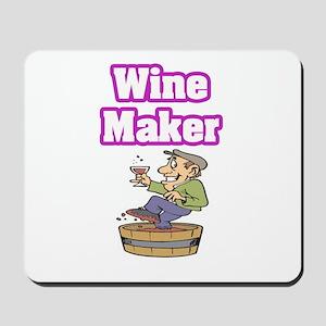 """Wine Maker"" Mousepad"