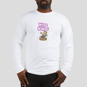 """""""Wine Maker"""" Long Sleeve T-Shirt"""