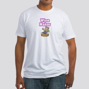 """""""Wine Maker"""" Fitted T-Shirt"""