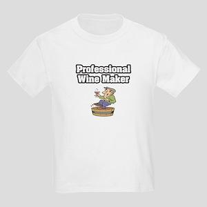 """Professional Wine Maker"" Kids Light T-Shirt"