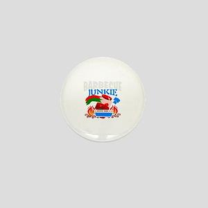 BBQ Junkie Mini Button