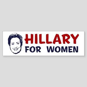 Hillary for Women Bumper Sticker