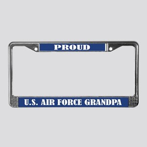 Proud U.s. Air Force Grandpa License Plate Frame