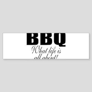 Barbeque Bumper Sticker