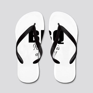 Barbeque Flip Flops