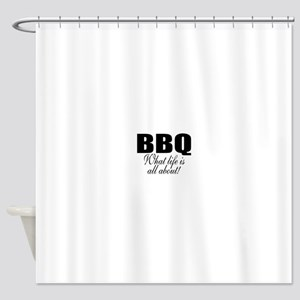 Barbeque Shower Curtain