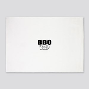 Barbeque 5'x7'Area Rug