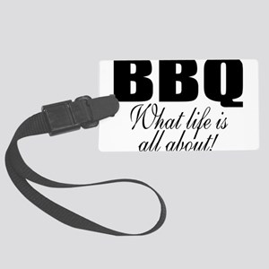 Barbeque Large Luggage Tag
