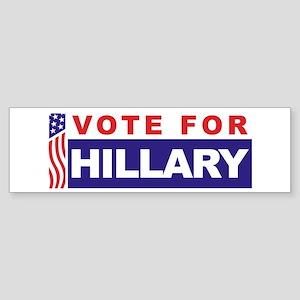 Vote for Hillary Bumper Sticker