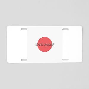 Yamato, Kanagawa Aluminum License Plate