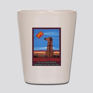 Ridgeback Brand Shot Glass