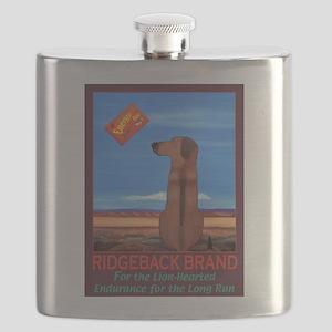 Ridgeback Brand Flask