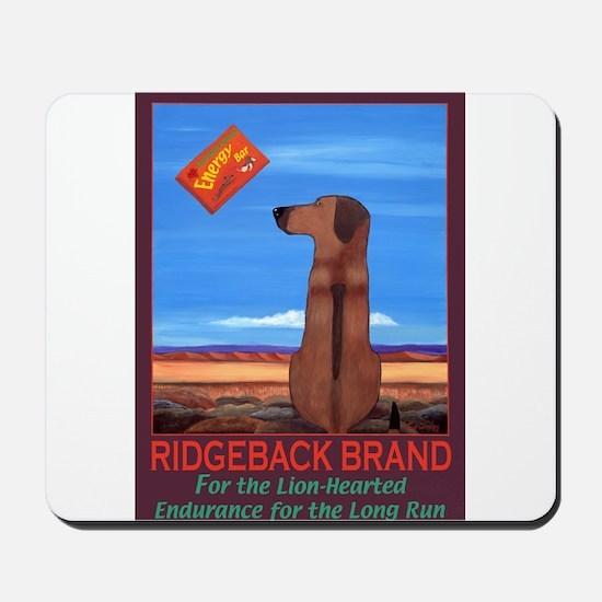 Ridgeback Brand Mousepad