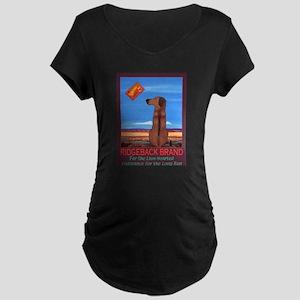 Ridgeback Brand Maternity Dark T-Shirt