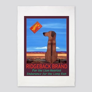 Ridgeback Brand 5'x7'Area Rug