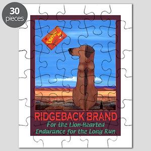 Ridgeback Brand Puzzle