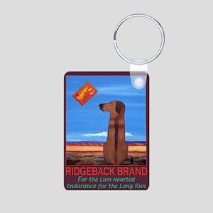 Ridgeback Brand Aluminum Photo Keychain