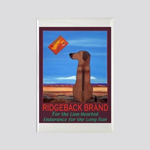 Ridgeback Brand Rectangle Magnet