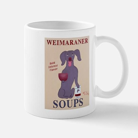 Weimaraner Soups Mug