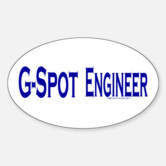 G-Spot Engineer Oval Decal