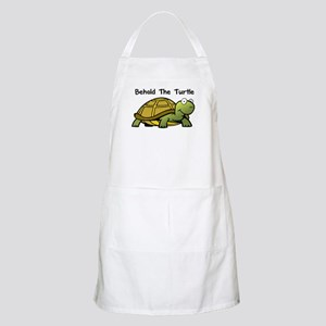 Behold The Turtle BBQ Apron