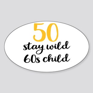 50th birthday Sticker