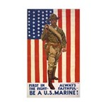 Be a U.S. Marine! Rectangle Sticker