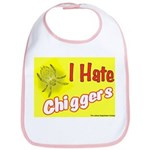 I Hate Chiggers Bib