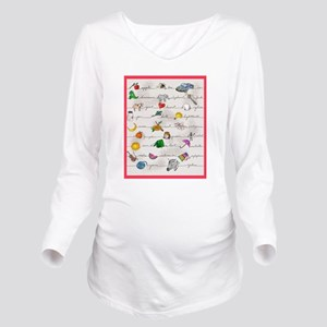 Illustrated Alphabe T-Shirt
