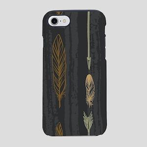 Arrow Feathers iPhone 8/7 Tough Case